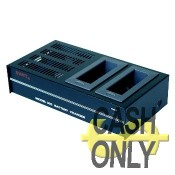 SC-302 carica batterie tipo NP-1B a 2 slot