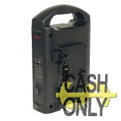 SC-302A charge battery 2 slots - gold mount