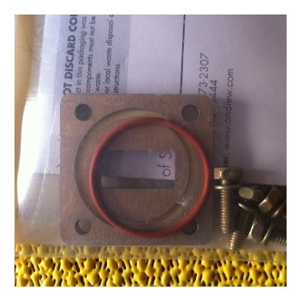 Andrew WR75 Shim with screws and gasket
