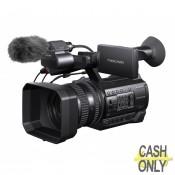 HXR-NX100 Exmor™ R CMOS sensor NXCAM camcorder,  48x zoom lens, recording XAVC S, AVCHD and DV