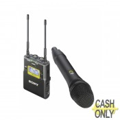 UWP-D12 UWP-D wireless microphone package with handheld transmitter