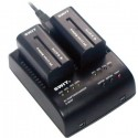 S-3602F carica batterie tipo NP-F970