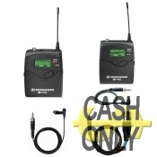 EW122P KIT cardioid clip-on, diversity receiver & bodypack transmitter