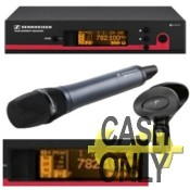 EW135-G3 radiomicrofono a mano e ricevitore Diversity