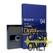 BCT-D94L Digital Betacam large 94 minuti