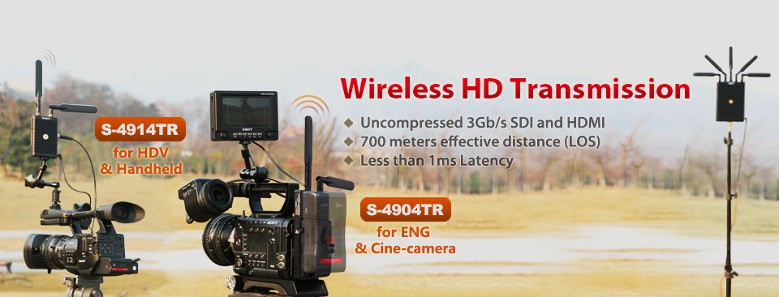 Swit Wireless HD Trasmission S-4914TR S-4904TR