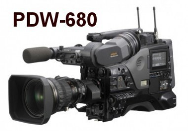 PDW-680 camcorder XDCAM HD
